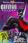 Batman beyond the movie 1999 vhs cover