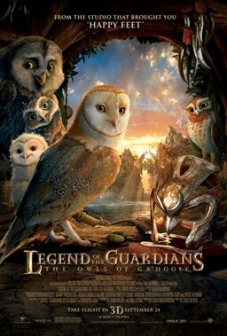 Legend of the Guardians film poster