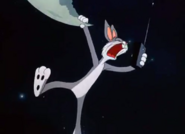 Bugs says get out of moon 2