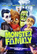 Monster family directv poster