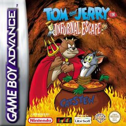 Tom and Jerry in Infurnal Escape cover