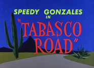 Tabasco Road Title Card