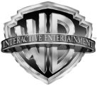 Wb interactive entertainment black white gray logo