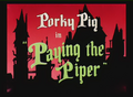 Paying the Piper Title Card