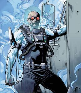 Mr. Freeze dc comics