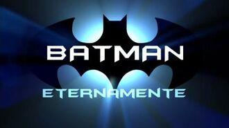 """Chamada do filme """"Batman Eternamente"""" no Cine Belas Artes (02 01 2015)"""