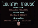 Country Mouse