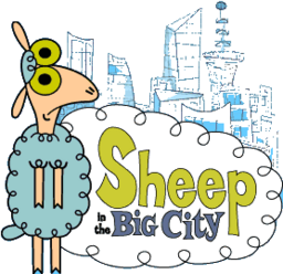 Sheepinthebigcity title logo