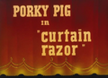 Curtain Razor Title Card