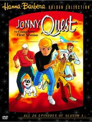 Jonny quest 2004 dvd cover