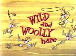 Wild and Woolly Hare Title Card (Better Quality)