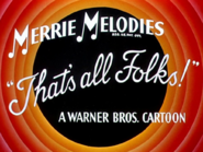Cheese Chasers Merrie Melodies Outro