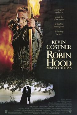 Robin hood prince of thieves poster