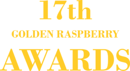 17th Golden Raspberry Awards logo