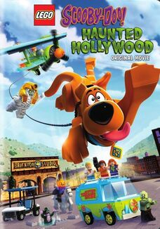 Lego scooby-doo haunted holllywood poster