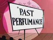 Past Perfumance Title Card