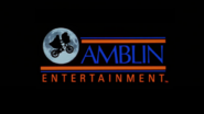 Amblin Entertainment 1984 logo