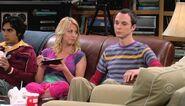 Sheldon is unhappy