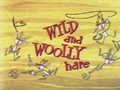 Wild and Woolly Hare Title Card