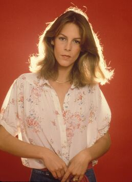 Younger Jamie Lee Curtis