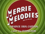 Hare Lift Merrie Melodies Intro 3