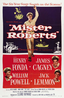 Mister Roberts (1955 movie poster)