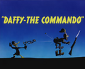 Daffy-The Commando Title Card