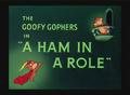 A Ham in a Role Title Card