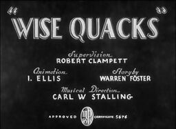 Wise Quacks Title Card
