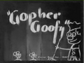 Gopher Goofy Title Card