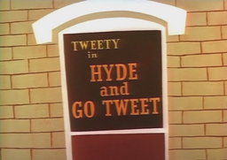 Hyde and Go Tweet Title Card