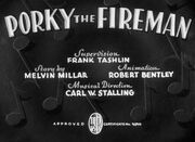 Porky the Fireman