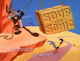 Soup or Sonic Title Card
