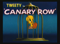 Canary Row Title Card