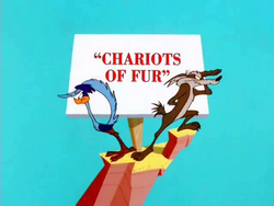 Chariots of Fur Title Card