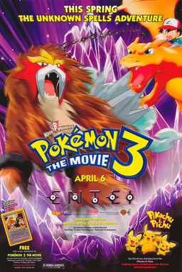 Pokemon 3 the movie american poster