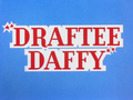 Draftee Daffy Title Card