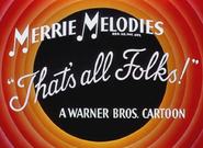 Canned Feud Merrie Melodies Outro