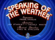 Speaking of the Weather (1937)3