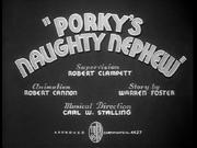 Porky's Naughty Nephew