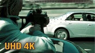 """The Matrix Reloaded - """"Freeway Fight Car Chase Aggravated"""" (4K UHD 2160p)"""