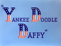 Yankee Doodle Daffy Title Card