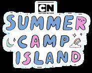 Summer camp island logo
