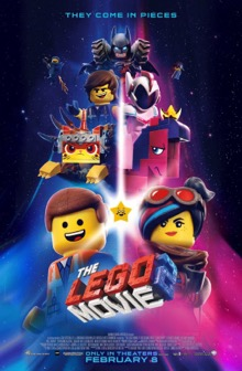 The Lego Movie 2 The Second Part theatrical poster