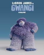 Smallfoot gwangi poster
