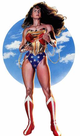 WonderWoman character