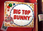 Big Top Bunny Title Card