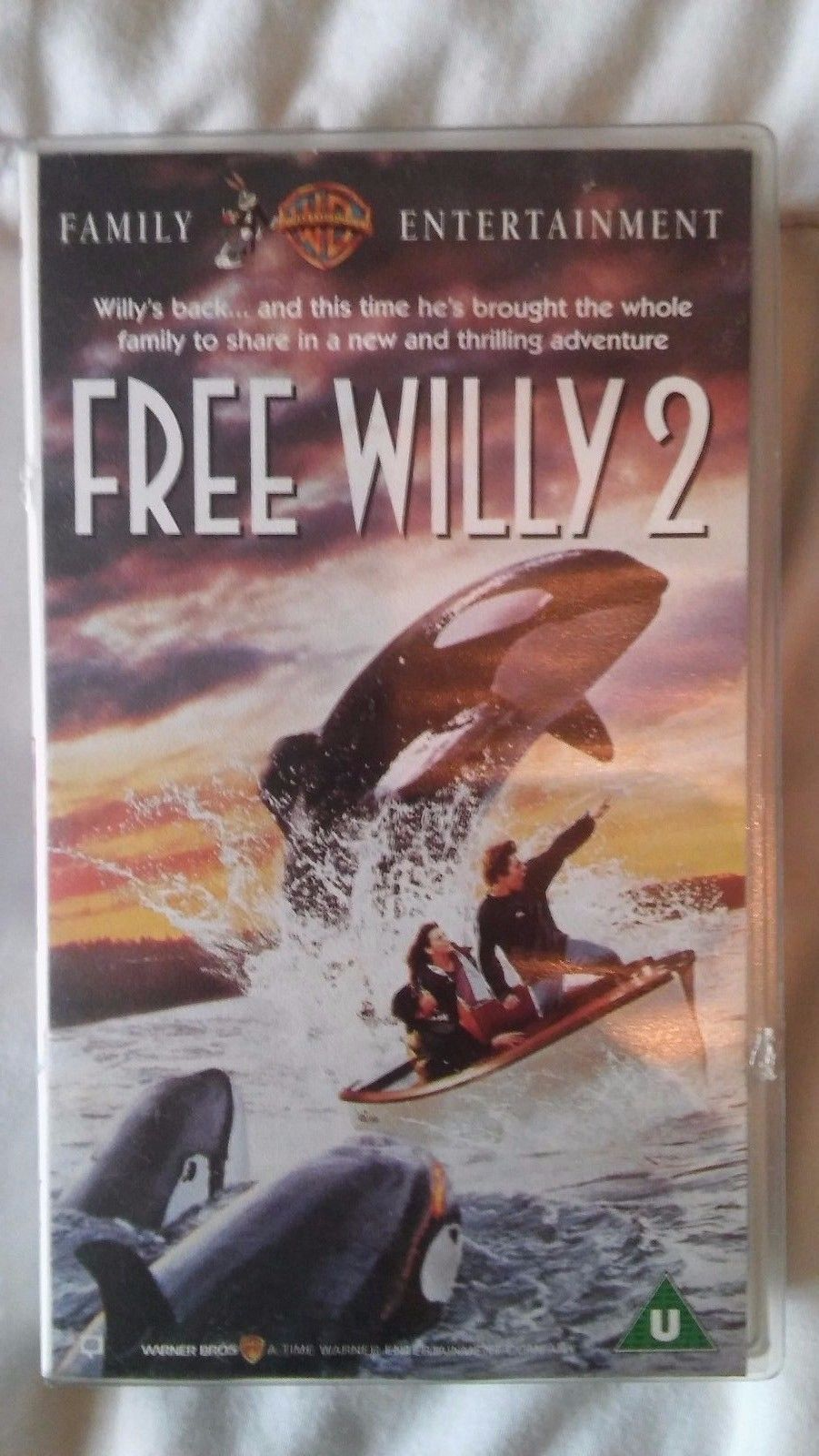Willy Wonka And The Chocolate Factory Vhs Free Willy 2: The Adve...