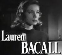 Lauren Bacall in The Big Sleep trailer