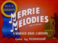 Merrie melodies blueribbon
